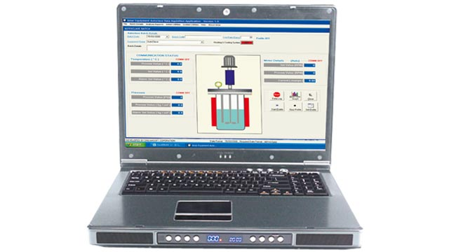 SCADA software for remote operation & recording