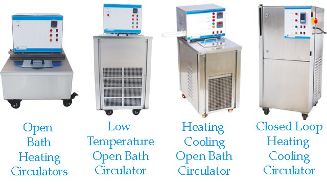 Heating cooling circulators
