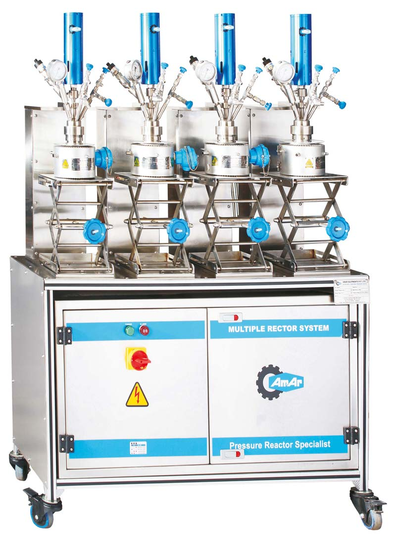 Multiple Parallel Autoclaves
